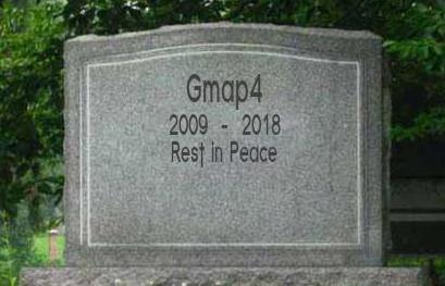 R.I.P. Gmap4